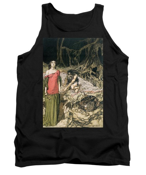 The Wooing Of Grimhilde The Mother Of Hagen From 'siegfried And The Twilight Of The Gods Tank Top