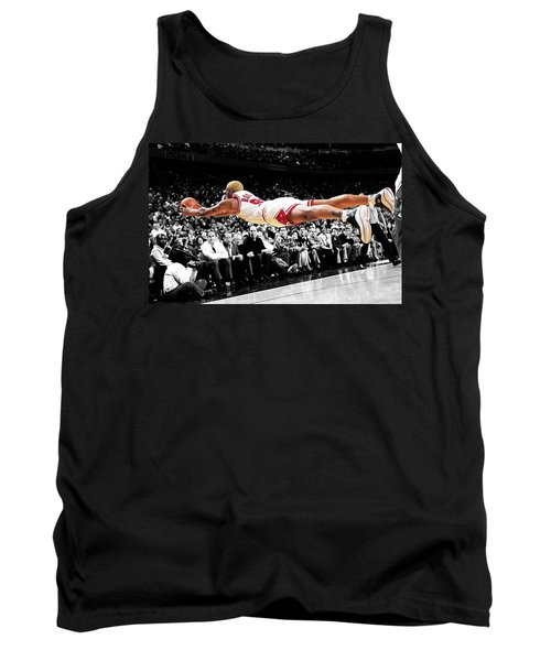 The Worm Dennis Rodman Tank Top