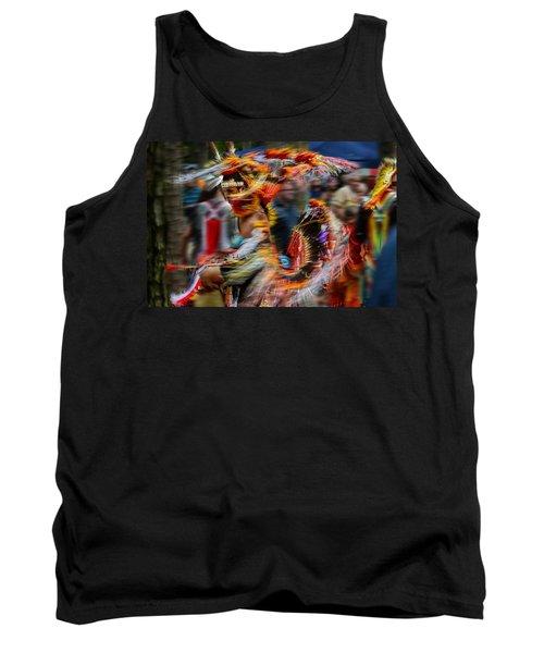 Their Spirit Is Among Us - Nanticoke Powwow Delaware Tank Top