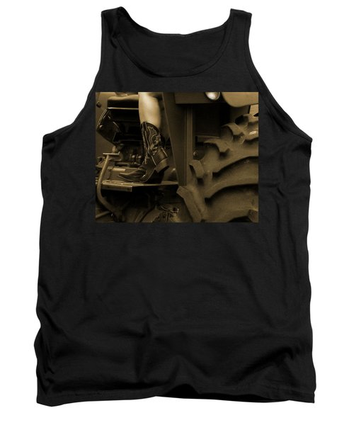 These Boots 1 Sepia Tank Top