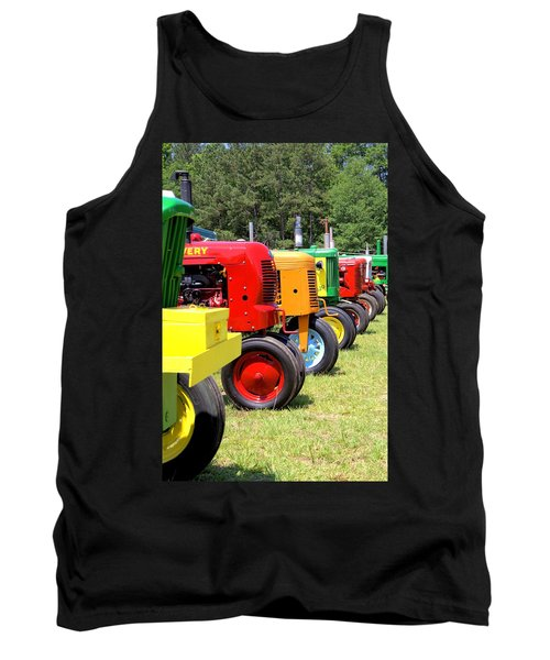They're At The Gate Tank Top by Gordon Elwell