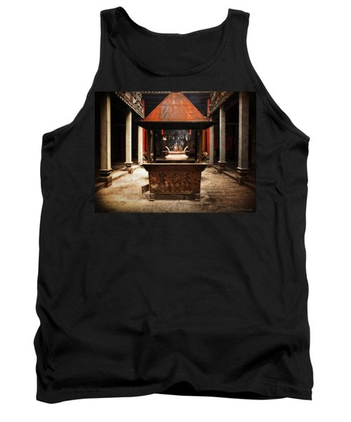 Tank Top featuring the photograph Thien Hau Temple  by Lucinda Walter
