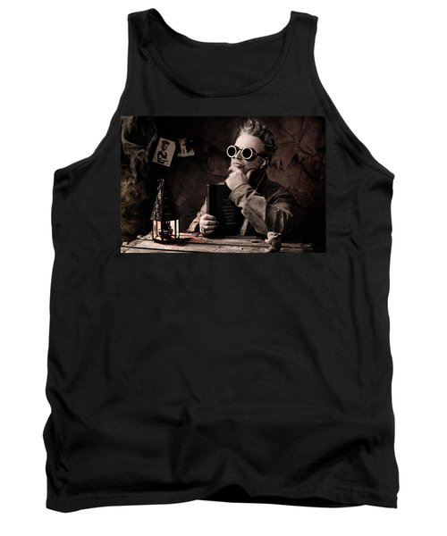 Things To Consider - Steampunk - World Domination Tank Top by Gary Heller