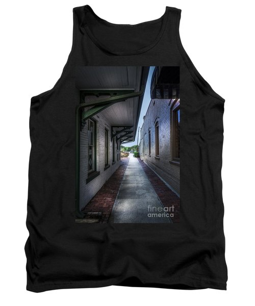 This Way To The Trains Tank Top
