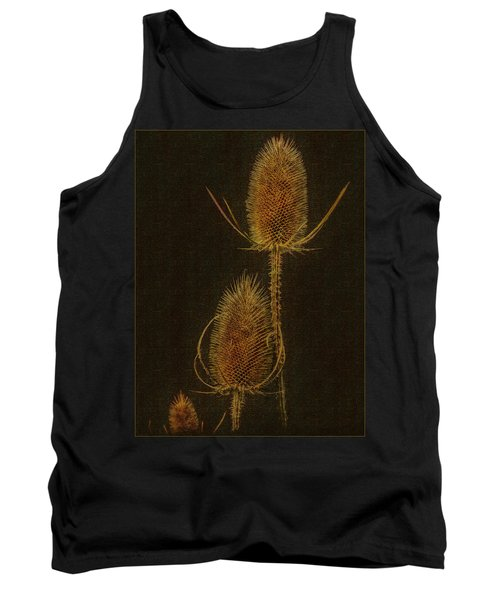 Tank Top featuring the photograph Thistles by Hanny Heim