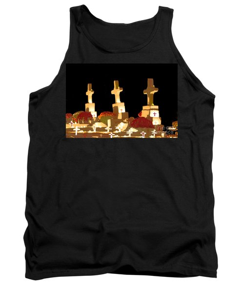 Tank Top featuring the photograph Louisiana Artistic Cemetery by Luana K Perez