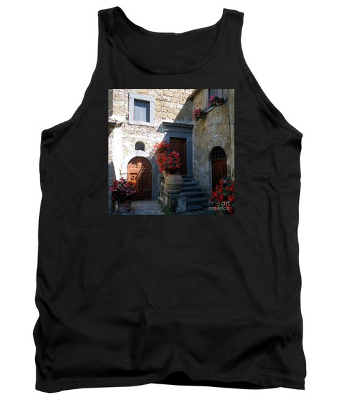 Three Doors In Bagnoregio Tank Top