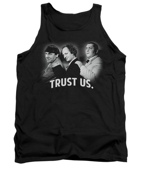 Three Stooges - Turst Us Tank Top