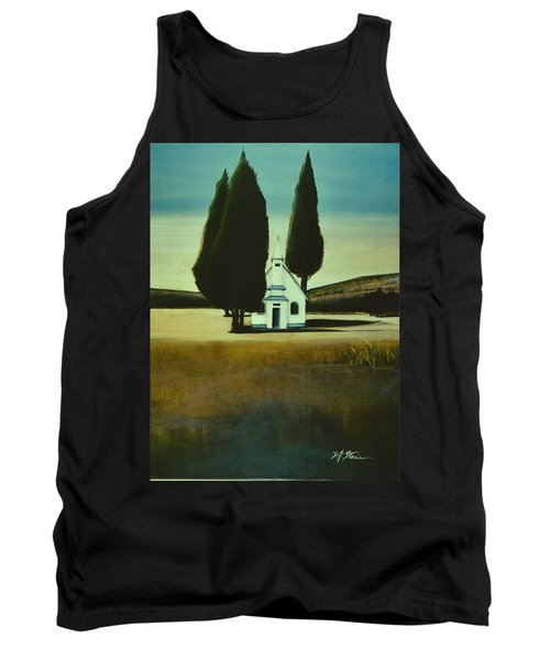 Three Trees And A Church Tank Top