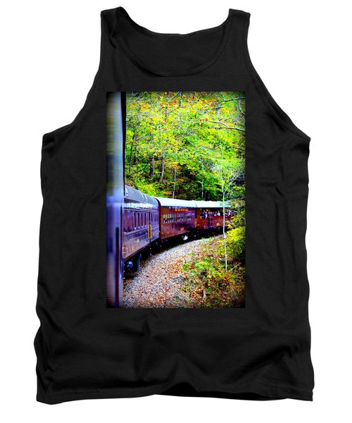Through The Mountains Tank Top