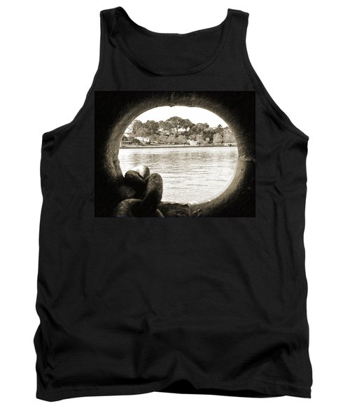 Through The Porthole Tank Top by Holly Blunkall