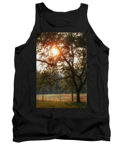 Through The Trees Tank Top by Melanie Lankford Photography
