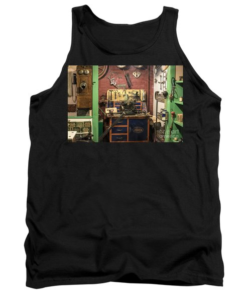 Garage Of Yesteryear Tank Top