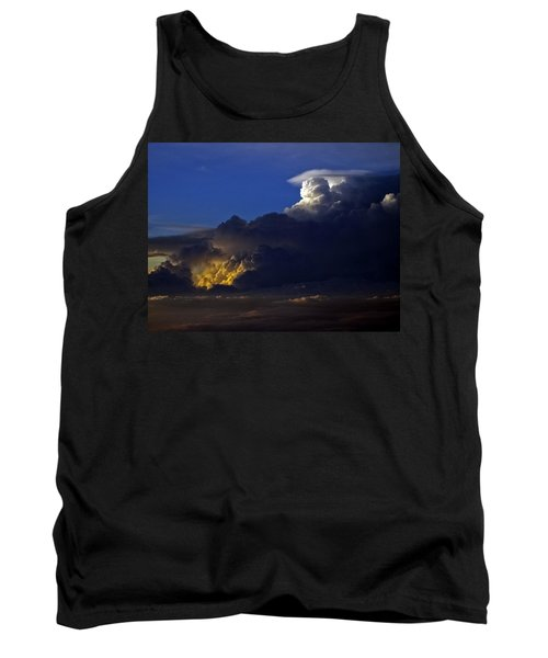 Tank Top featuring the photograph Thunderstorm II by Greg Reed