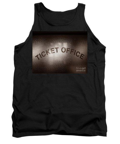 Ticket Office Window Tank Top