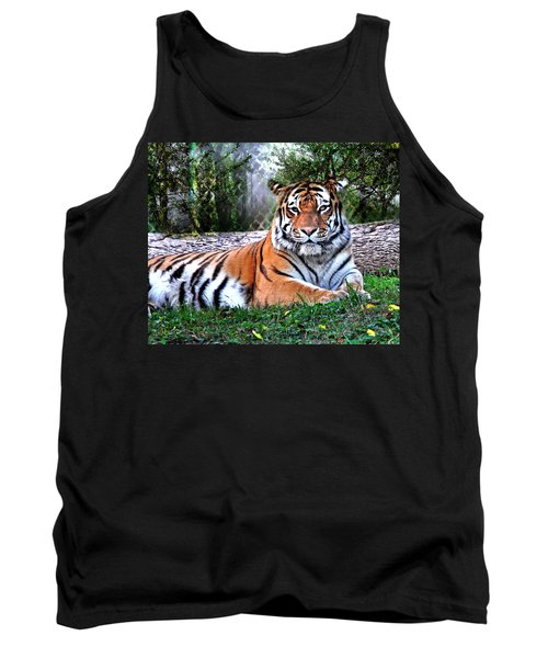 Tank Top featuring the photograph Tiger 2 by Marty Koch