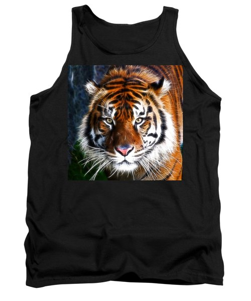 Tiger Close Up Tank Top