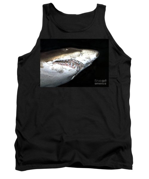 Tiger Shark Tank Top by Sergey Lukashin