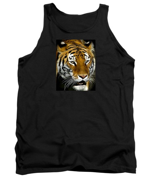 Tiger Tiger Burning Bright Tank Top by Venetia Featherstone-Witty
