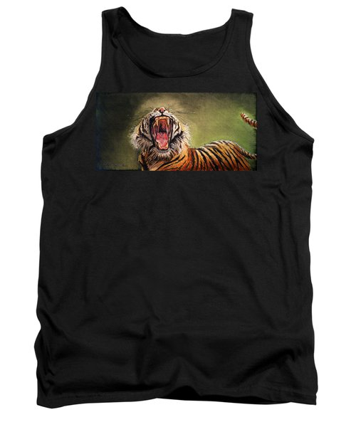 Tiger Yawn Tank Top