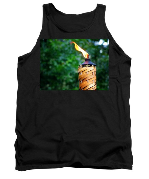 Tank Top featuring the photograph Tiki Time by Greg Simmons