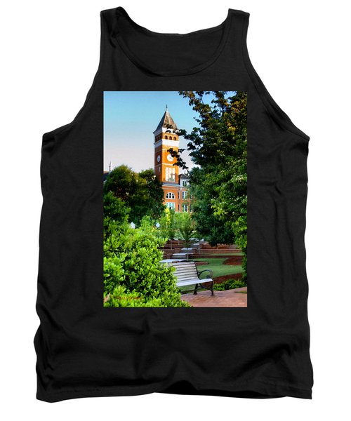 Tillman Hall Early Morning Tank Top by Lynne Jenkins