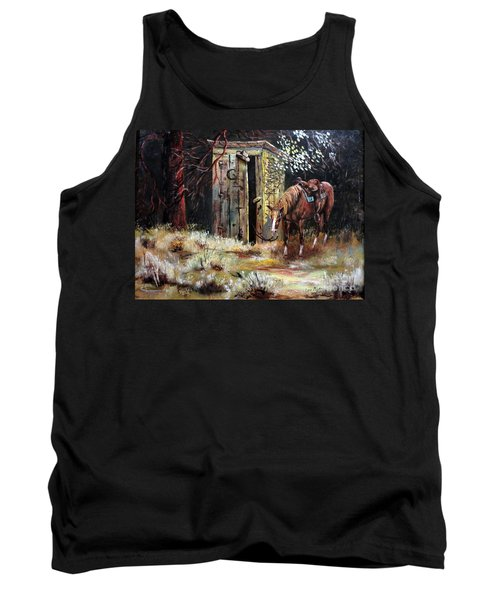 Time Out Tank Top by Lee Piper