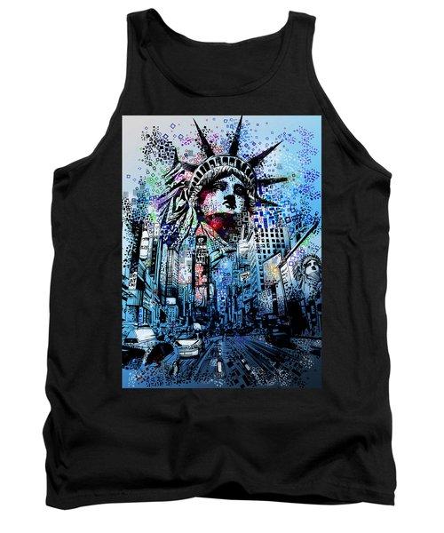 Times Square 2 Tank Top
