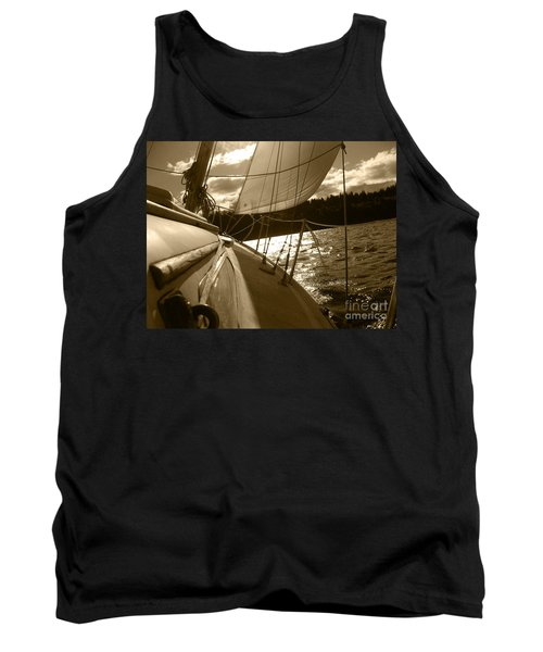 Time To Jibe  Tank Top by Kym Backland