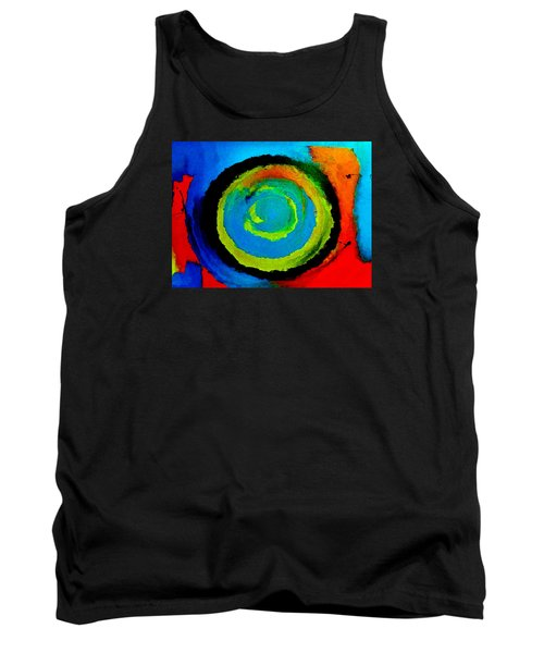 Tank Top featuring the painting Time Traveler  by Lisa Kaiser