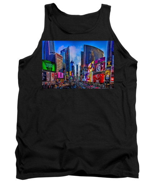 Times Square Tank Top by Chris Lord