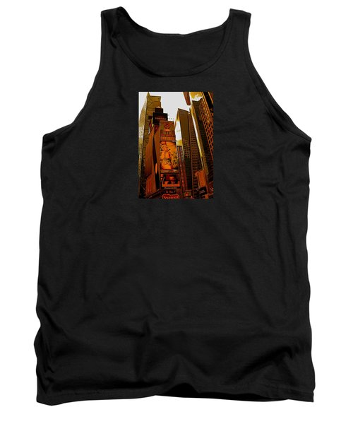 Times Square In Manhattan Tank Top