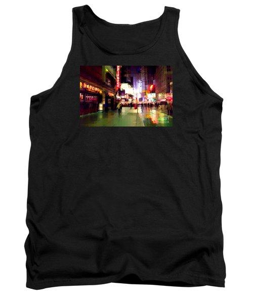 Times Square New York - Nanking Restaurant Tank Top