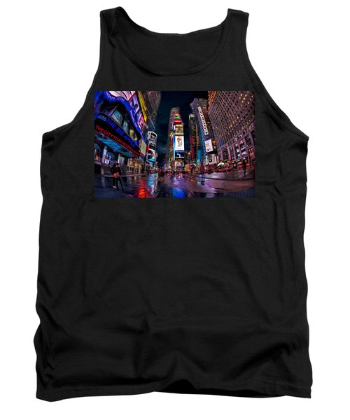 Times Square New York City The City That Never Sleeps Tank Top