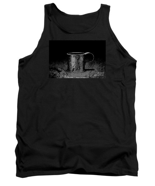Tin Cup Chalice Tank Top by John Stephens