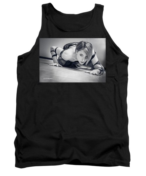 Tank Top featuring the photograph Tiphanie Model by Stwayne Keubrick
