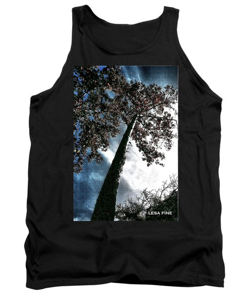 Tank Top featuring the photograph Tippy Top Tree II Art by Lesa Fine