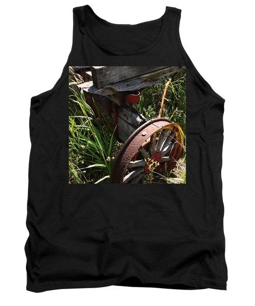 Tank Top featuring the photograph Tireless by Meghan at FireBonnet Art