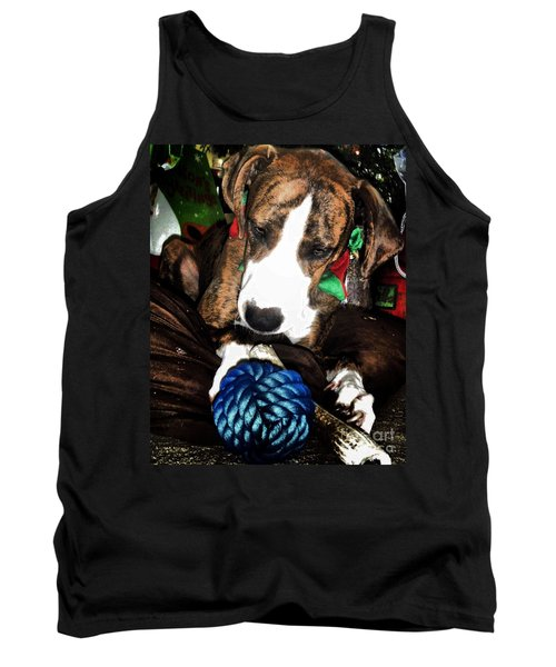 Tank Top featuring the photograph 'tis Better To Receive by Robert McCubbin