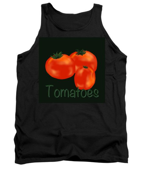 Tomatoes Tank Top by Christine Fournier