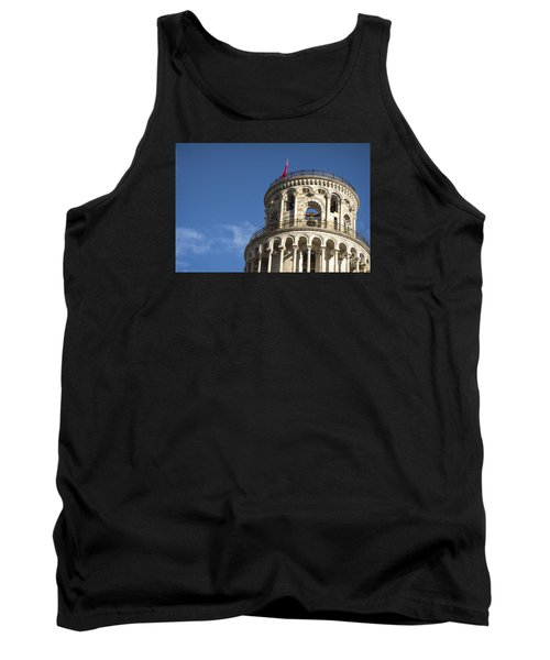 Top Of The Leaning Tower Of Pisa Tank Top
