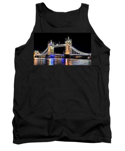 Tower Bridge Abstract Tank Top