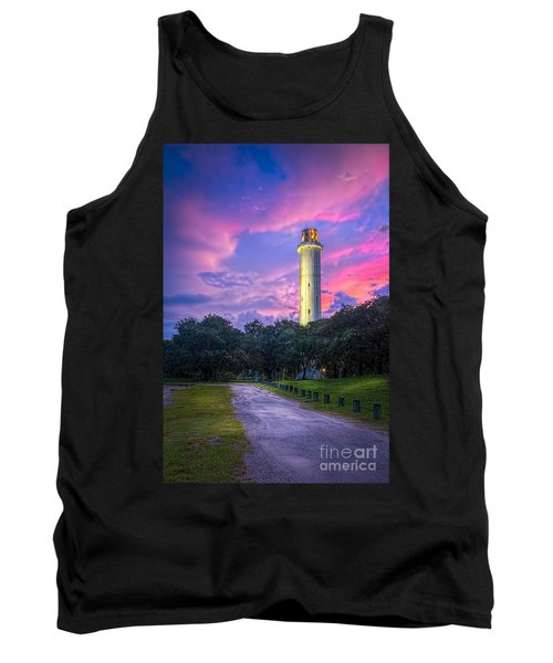 Tower In Sulfur Springs Tank Top by Marvin Spates