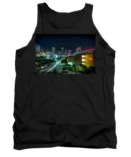 Toyota Center And Downtown Houston Tank Top