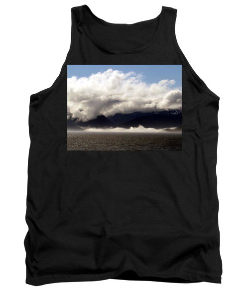 Tank Top featuring the photograph Tracy Arm Fjord by Jennifer Wheatley Wolf