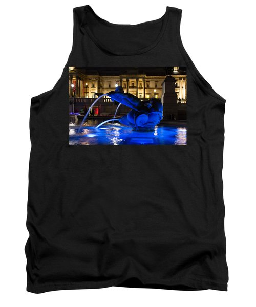 Trafalgar Square At Night Tank Top