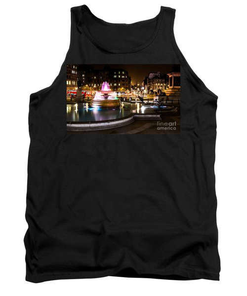 Tank Top featuring the photograph Trafalgar Square by Matt Malloy