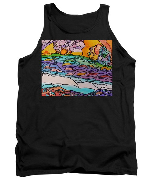 Tank Top featuring the painting Tragic by Barbara St Jean