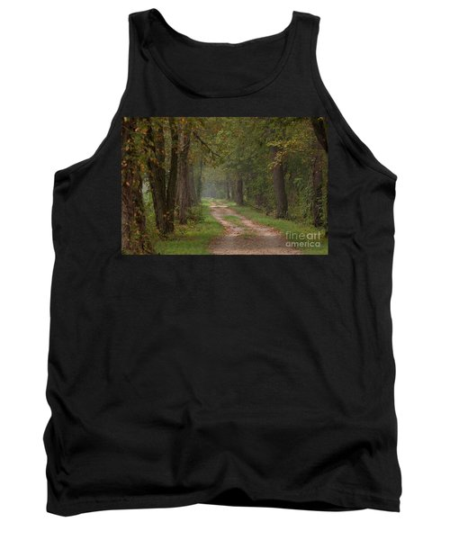 Trail Along The Canal Tank Top by Jeannette Hunt