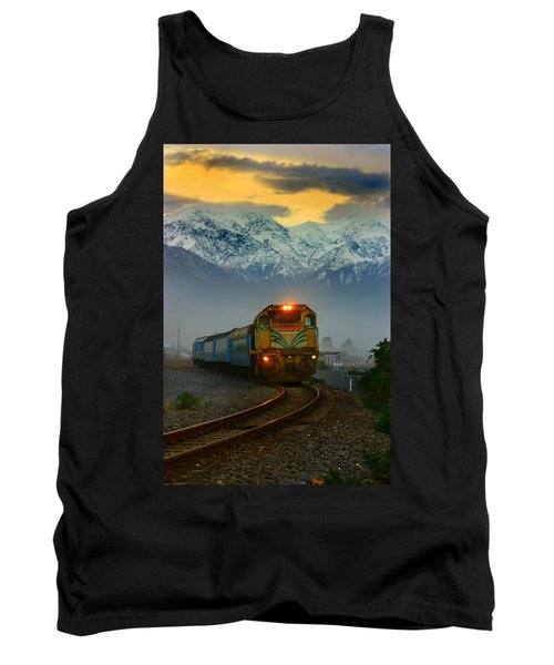 Train In New Zealand Tank Top
